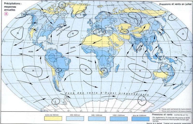 Précipitations / CLIMAT / Météo / Pluies Averses Pluie Neige Carte_10