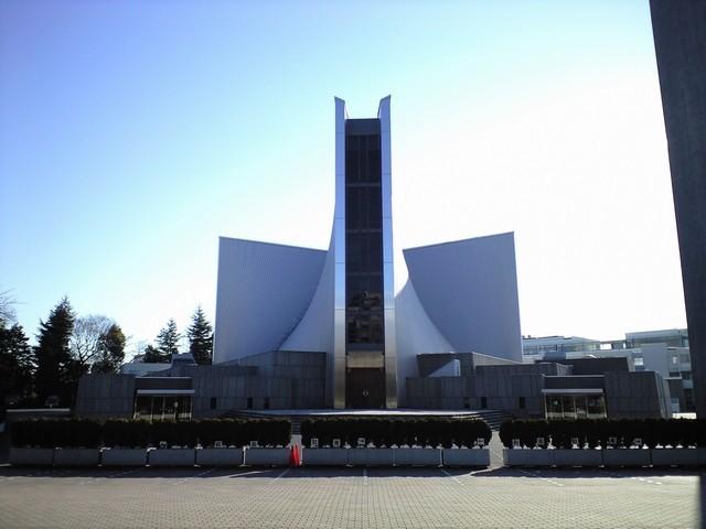 TOKYO / TOKYO 3D / JAPON / VISITE VIRTUELLE Cathed10