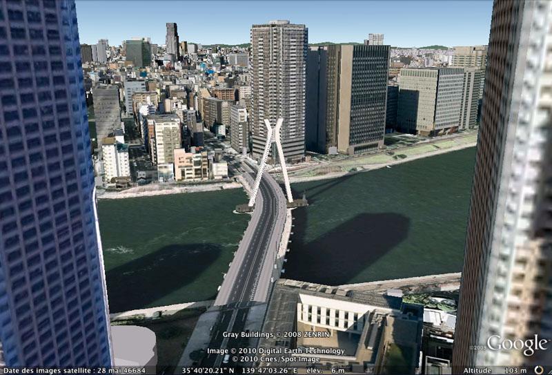 TOKYO / TOKYO 3D / JAPON / VISITE VIRTUELLE Centra10