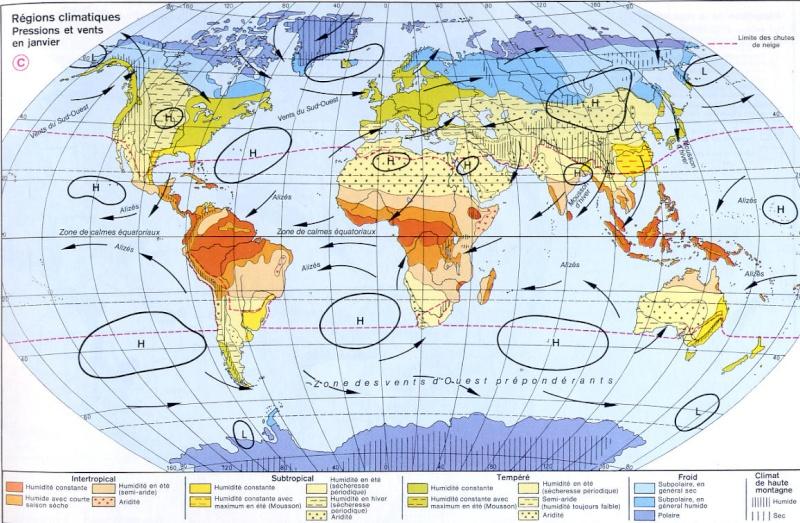 Pression Atmosphérique / Anticyclone / Dépression / Atmosphérique Climat10