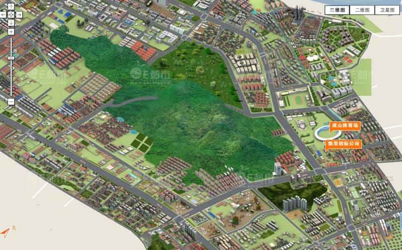 Villes Chinoises en 3D avec Edushi Cpark10