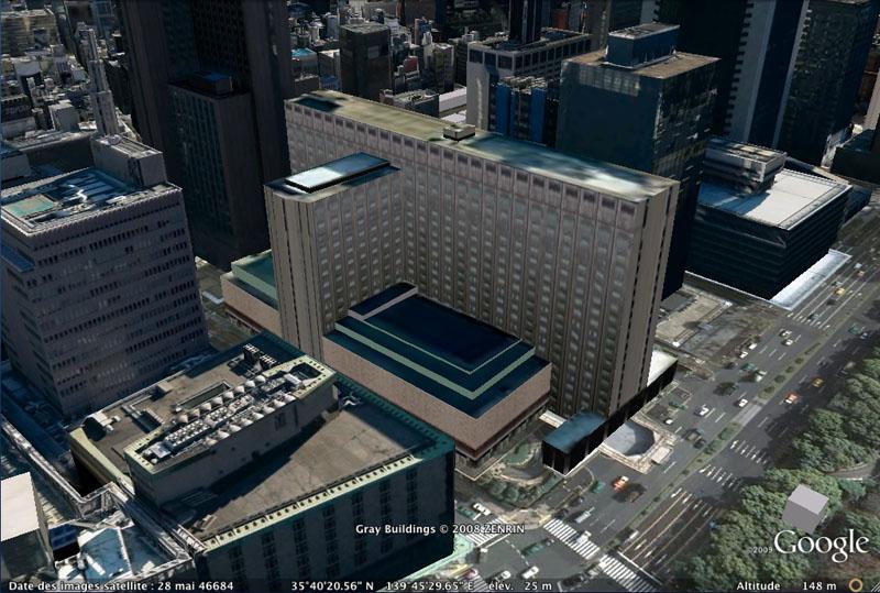 TOKYO / TOKYO 3D / JAPON / VISITE VIRTUELLE Imperi10