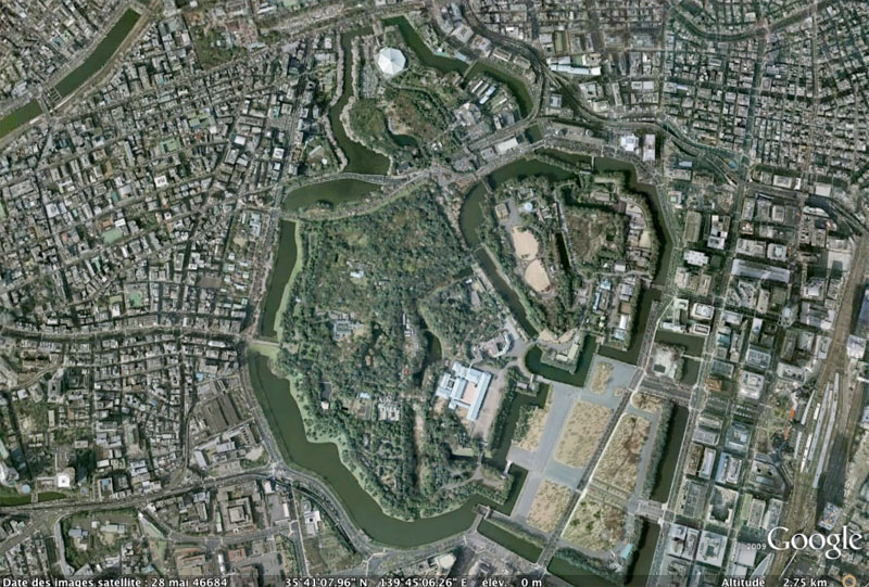 TOKYO / TOKYO 3D / JAPON / VISITE VIRTUELLE Imperi12