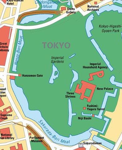 TOKYO / TOKYO 3D / JAPON / VISITE VIRTUELLE Imperi13
