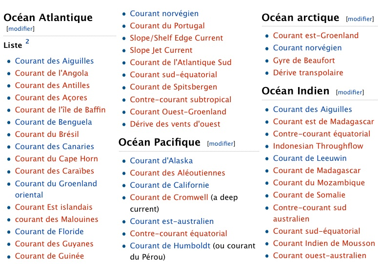 Les Courants Marins / CLIMAT / Courant Marin Océanique Les_co10