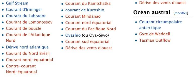 Les Courants Marins / CLIMAT / Courant Marin Océanique Les_co11