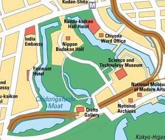 TOKYO / TOKYO 3D / JAPON / VISITE VIRTUELLE Map_no10