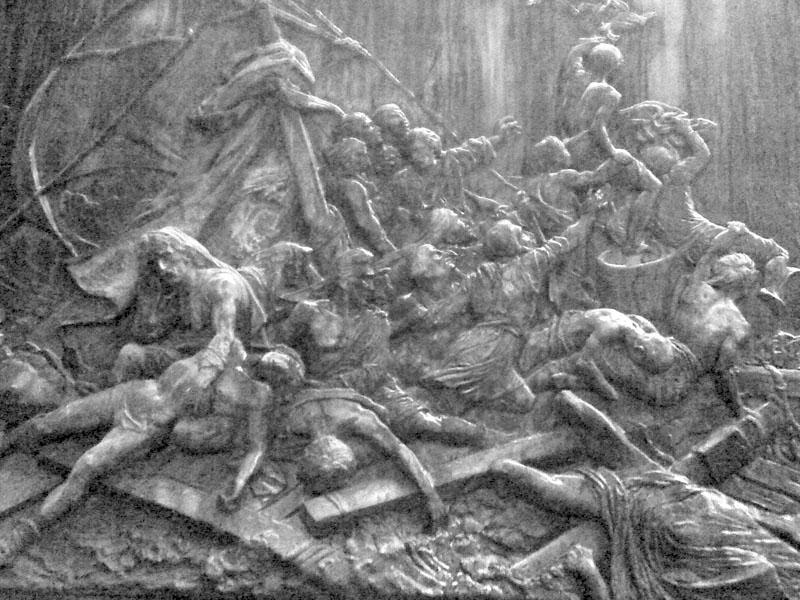 Le cimetière du Père-Lachaise / Géricault / Morrisson Meduse10