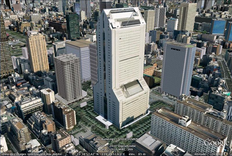 TOKYO / TOKYO 3D / JAPON / VISITE VIRTUELLE Nec_su10
