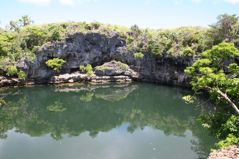TROUS BLEUS & Cenotes  / Trou Marin / Trou Bleu / Blue Hole / Monde Ouvea_10