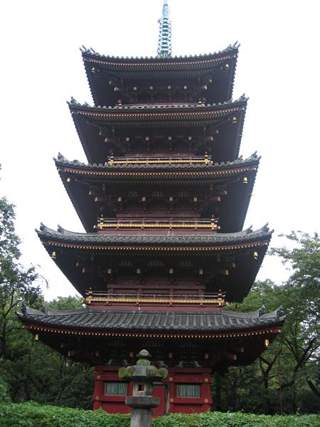 TOKYO / TOKYO 3D / JAPON / VISITE VIRTUELLE Pagoda10