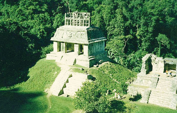 Mayas - Tikal Calakmul Palenque - Maya Yucatan Mexique Palenq10