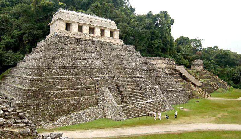 Mayas - Tikal Calakmul Palenque - Maya Yucatan Mexique Palenq11