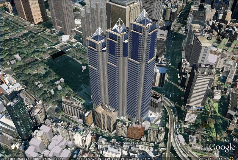TOKYO / TOKYO 3D / JAPON / VISITE VIRTUELLE Park_h10