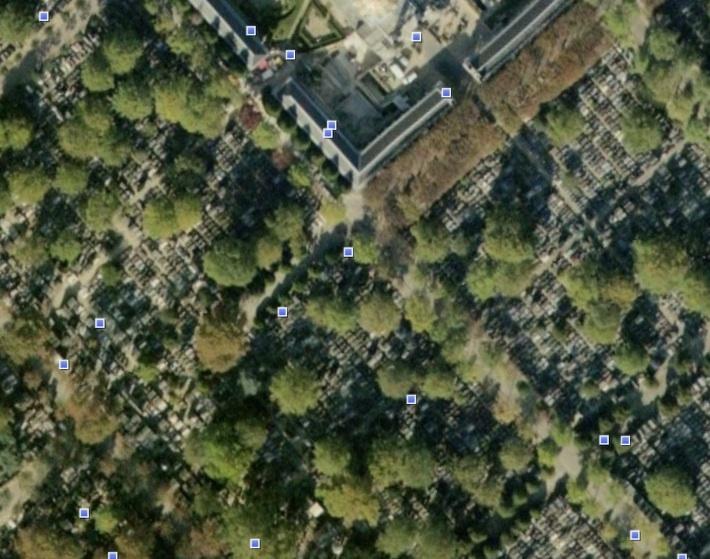 Le cimetière du Père-Lachaise / Géricault / Morrisson Pere-l11