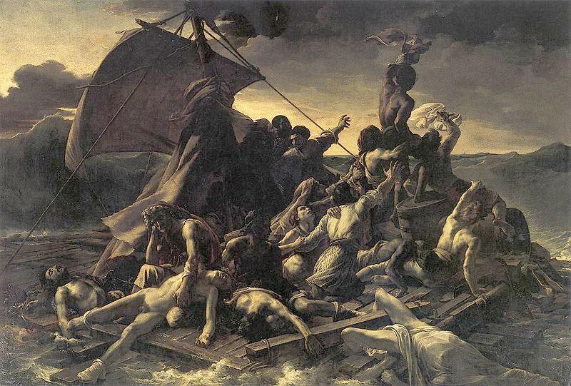 Le cimetière du Père-Lachaise / Géricault / Morrisson Radeu_10