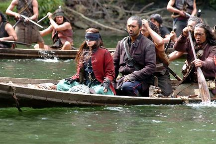 RIVER QUEEN / Maoris Maories / Nouvelle zelande River010