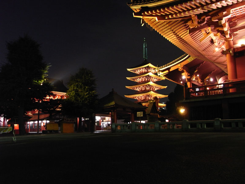 TOKYO / TOKYO 3D / JAPON / VISITE VIRTUELLE Senso-11