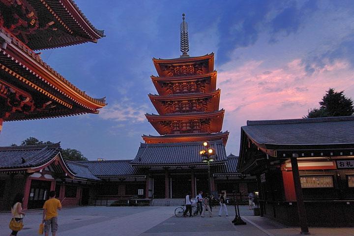 TOKYO / TOKYO 3D / JAPON / VISITE VIRTUELLE Senso-12