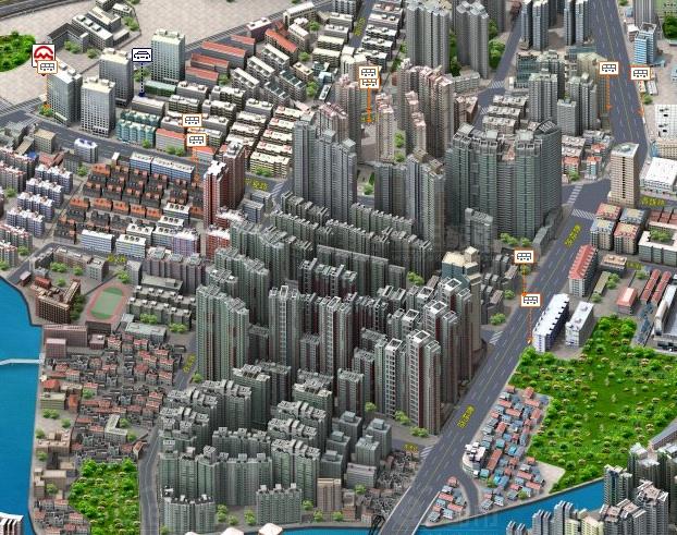 Villes Chinoises en 3D avec Edushi Shangh10