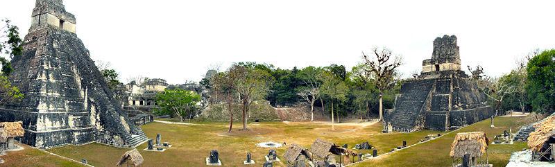 Mayas - Tikal Calakmul Palenque - Maya Yucatan Mexique Tikal-10