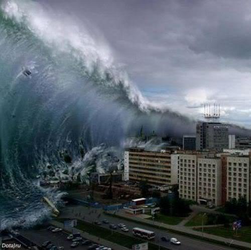 Méga Tsunami / MégaTsunami / Méga-Tsunami / Vagues / Monde Tsunam10