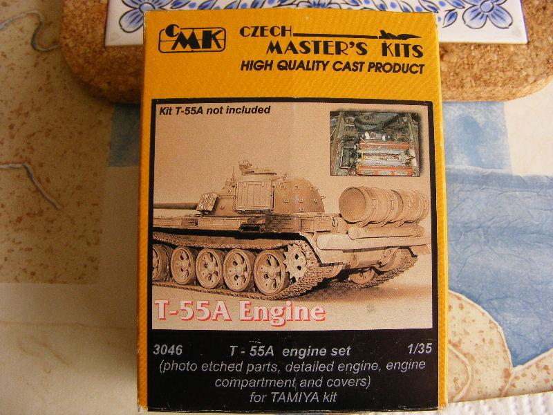 T69 II  Irakien - Trumpeter 1/35 ème Moteur21