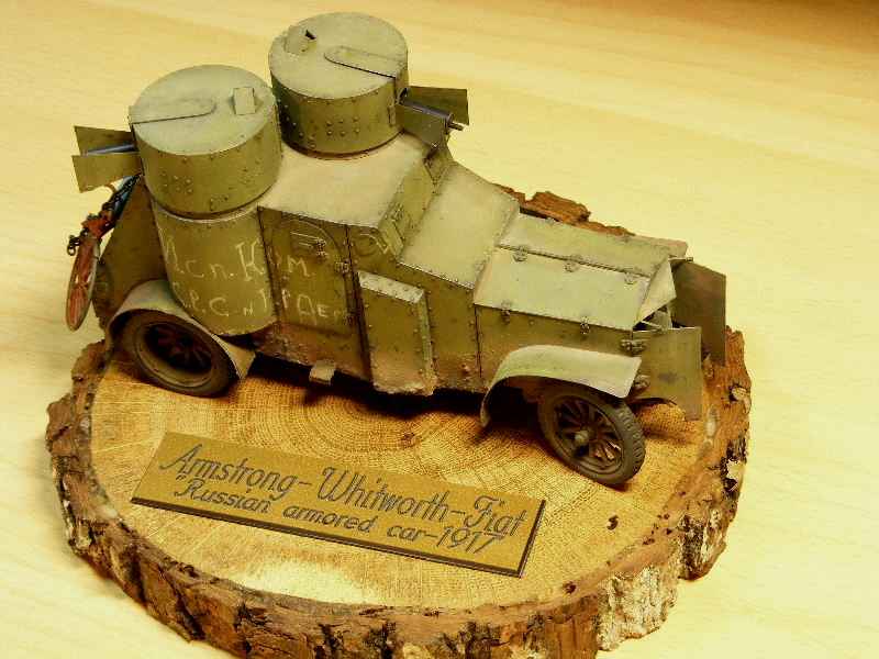 """Armstrong-Whitworth-Fiat """"Russian armored car"""" Termin10"""