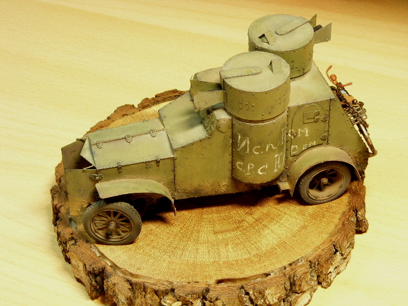"""Armstrong-Whitworth-Fiat """"Russian armored car"""" Termin11"""