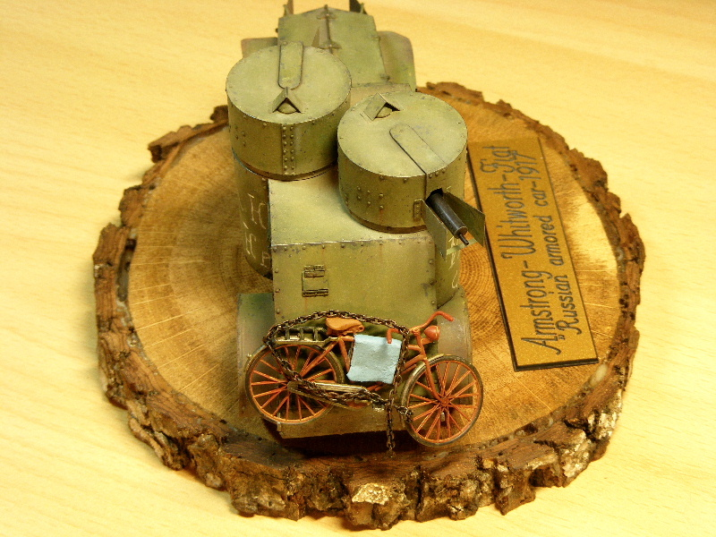 """Armstrong-Whitworth-Fiat """"Russian armored car"""" Termin12"""