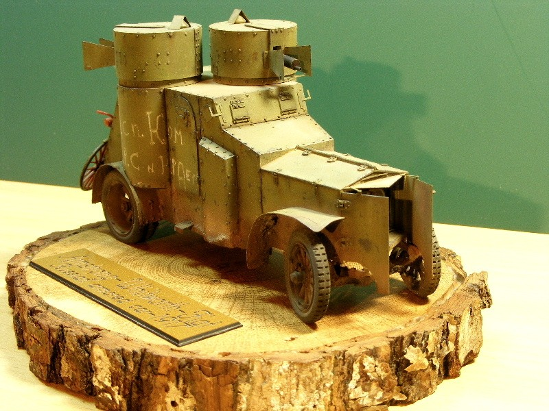 """Armstrong-Whitworth-Fiat """"Russian armored car"""" Termin15"""