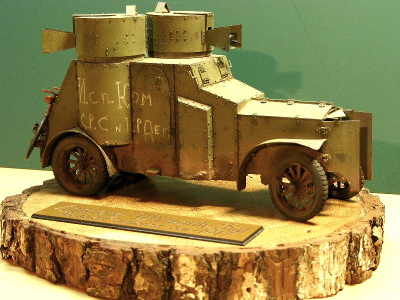 """Armstrong-Whitworth-Fiat """"Russian armored car"""" Termin16"""