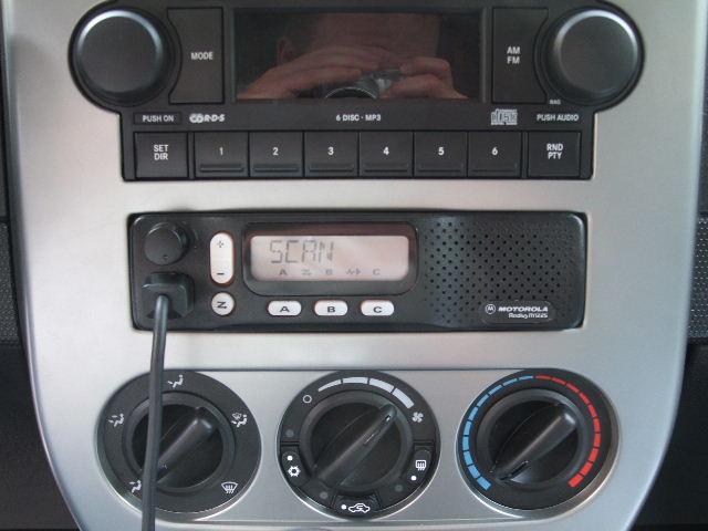 Рация в авто 118