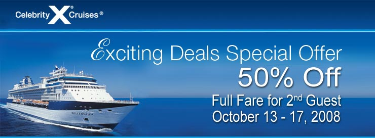 Celebrity cruise sale! Celeb_10