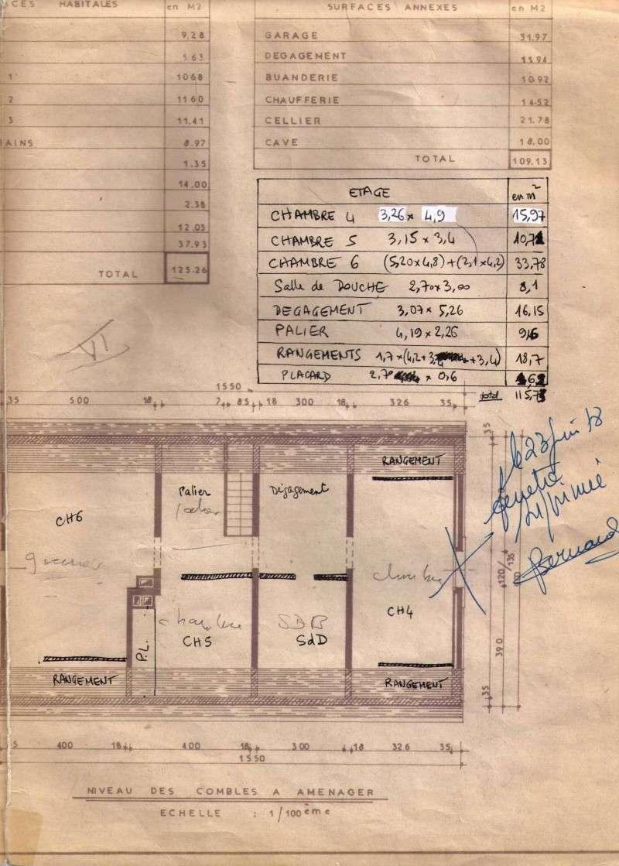 architecte et modification étage Scanim10
