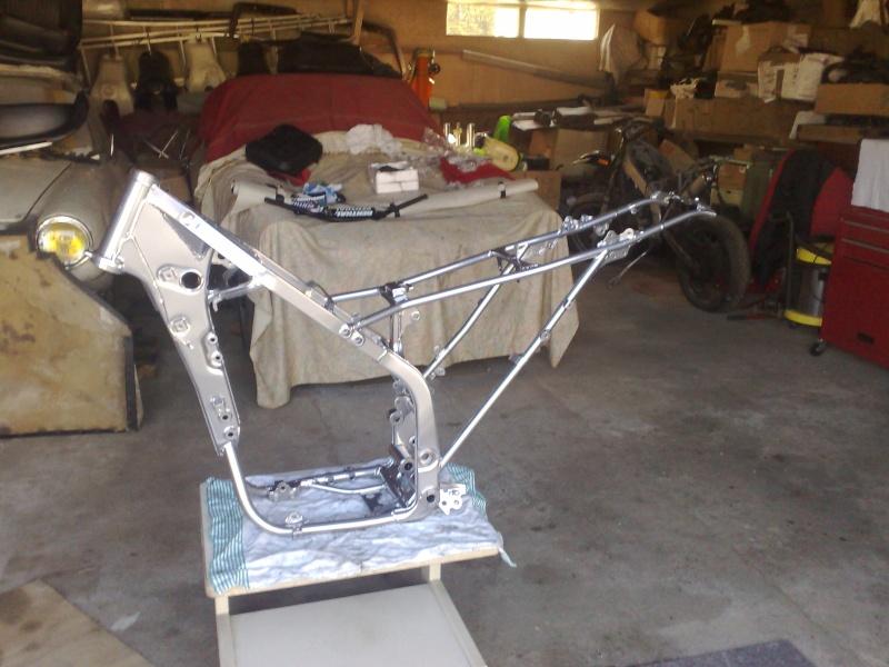 Restauration de mon KLX 650 R Supermotard !!! 24042010