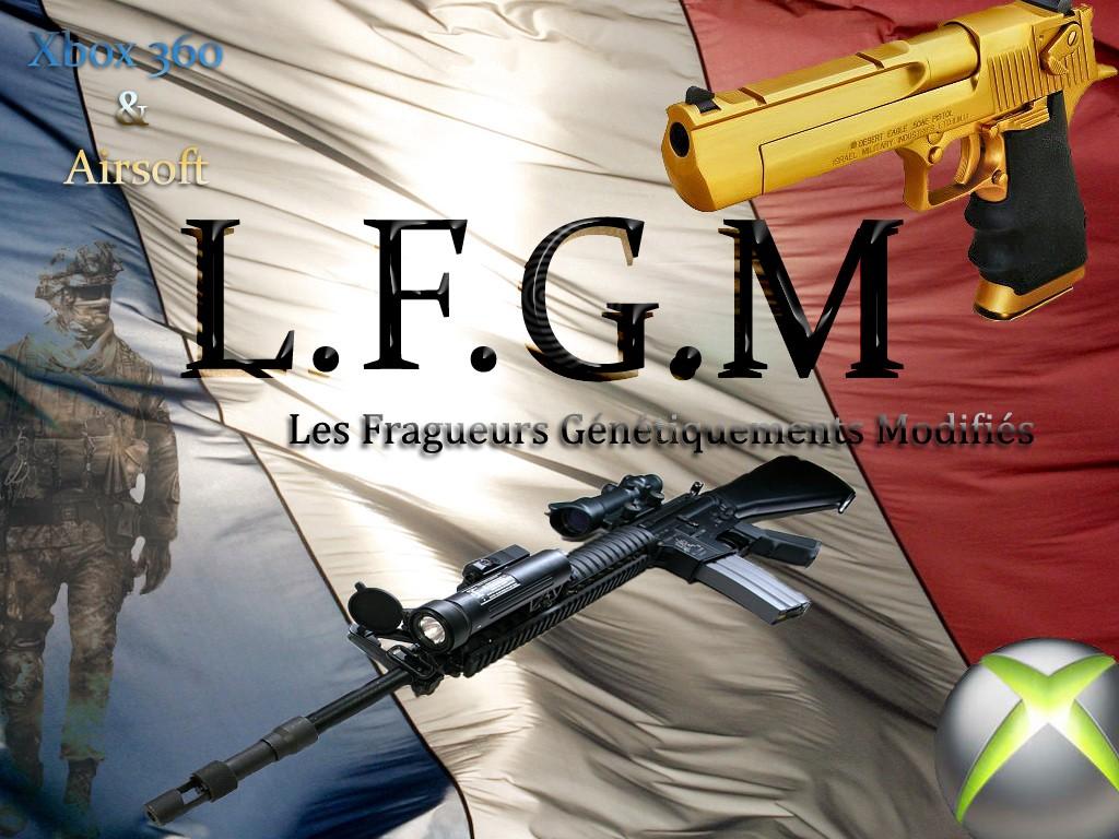 LFGM cyborgs: Xbox 360 & Airsoft