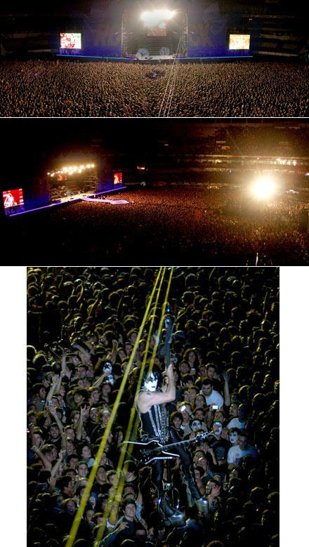 Review de Kiss en el Quilmes Rock 09 Argent10