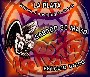 La Renga - La Plata (30 de Mayo) Mayo2010