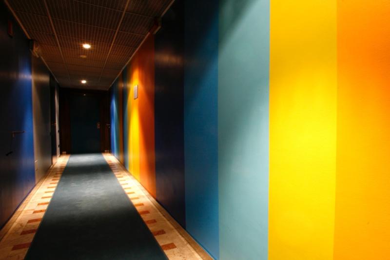 Peintures pour hall d'entrée avec vide sur hall Corrid10