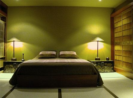 Stunning Decoration Chambre Marron Et Vert Pictures - House Design ...