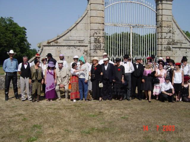 CONCOURS D'ELEGANCE 2003 - SORTIE DE YANNICK  Image022