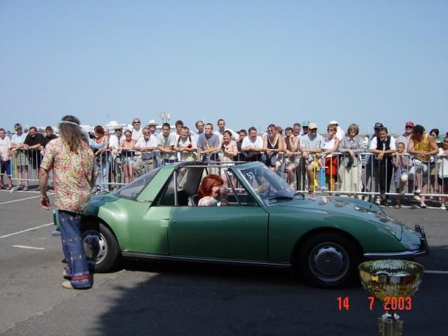 CONCOURS D'ELEGANCE 2003 - SORTIE DE YANNICK  Image027
