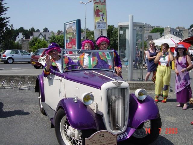 CONCOURS D'ELEGANCE 2003 - SORTIE DE YANNICK  Image038