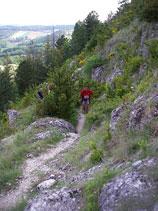 Le Trail de Mirmande fin mars 2011 Mirabe10
