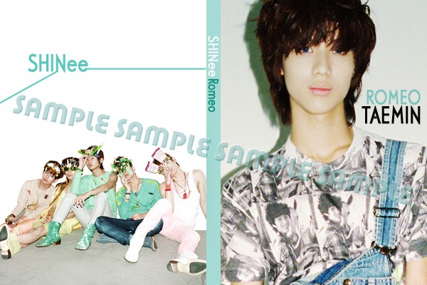 สมุดโน้ต SHINee (Ver.Romeo) Shinee11