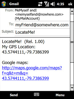 LocateMe, aprovechando el GPS Locate10