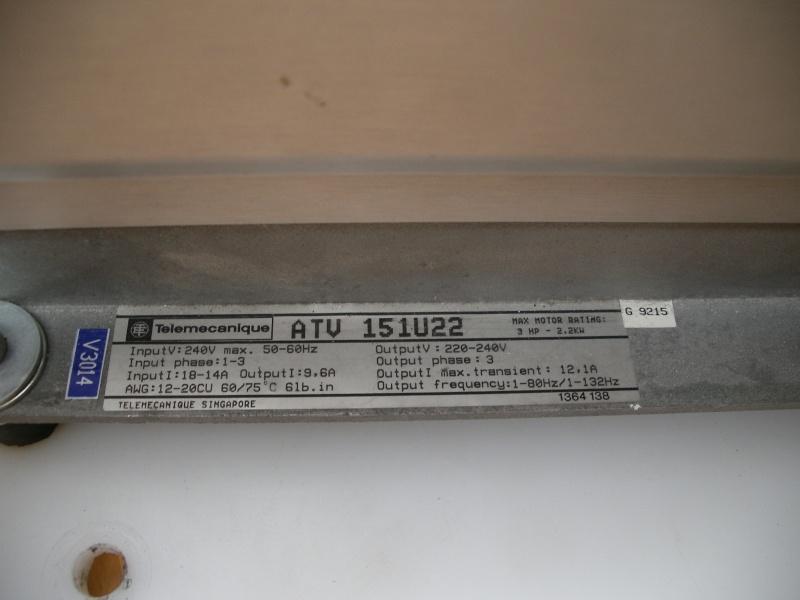altivar tour à bois 151U22 Imgp3111