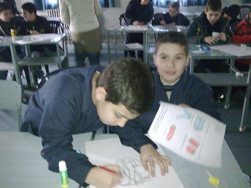 Grade 5 A- The Heart Model Image045