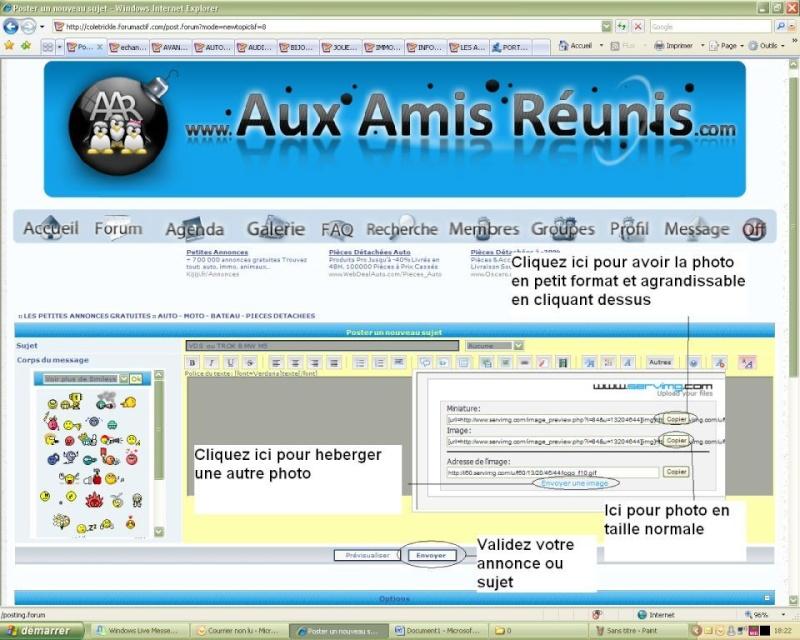 AVANT DE DEPOSER VOTRE ANNONCE Aar410